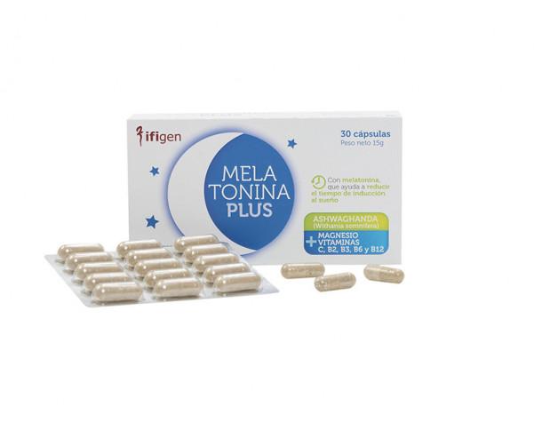 MELATONIN PLUS 30 capsules