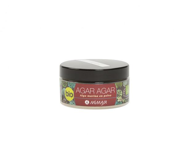 AGAR AGAR in powder BIO 40g