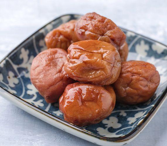 Comprimés d'aliments concentrés d'umeboshi et jinenjo